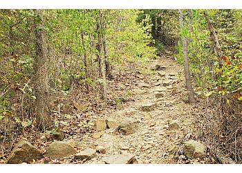 Tulsa hiking trail Turkey Mountain Urban Wilderness Area