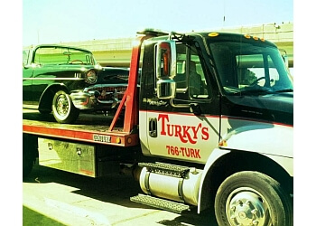 Charleston towing company Turky's Towing
