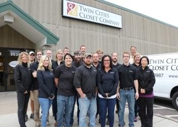 Minneapolis custom cabinet Twin Cities Closet Company