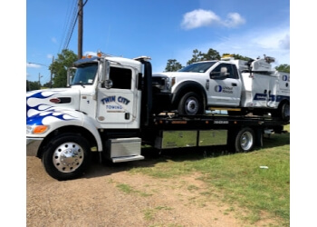 Shreveport towing company Twin City Towing