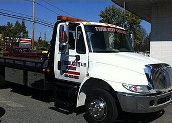 Winston Salem towing company Twin City Towing