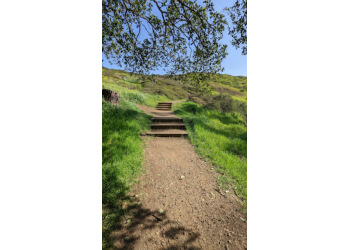 San Francisco hiking trail Twin Peaks