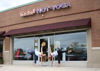 Grand Rapids yoga studio Twisted Hot Yoga
