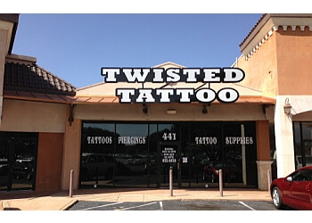 San Antonio tattoo shop Twisted Tattoo