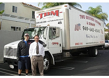 Costa Mesa moving company Two Brothers Moving