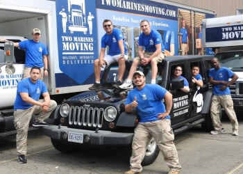 Alexandria moving company Two Marines Moving