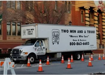 Arlington moving company Two Men and a Truck