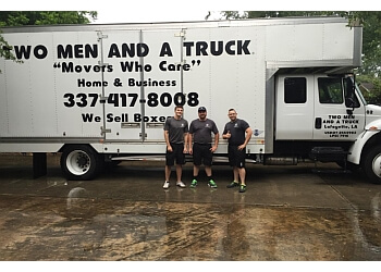 Lafayette moving company Two Men and a Truck