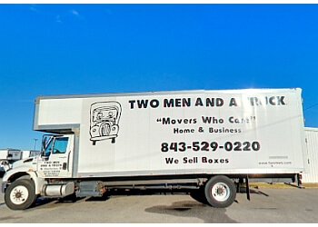 North Charleston moving company Two Men and a Truck
