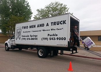 Pueblo moving company Two Men and a Truck