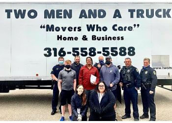 Wichita moving company Two Men and a Truck