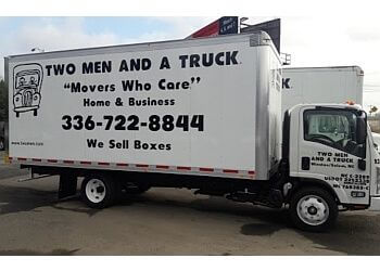 Winston Salem moving company Two Men and a Truck