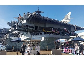 San Diego places to see USS Midway Museum
