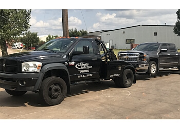 Oklahoma City towing company Ultimate Reflections Towing LLC
