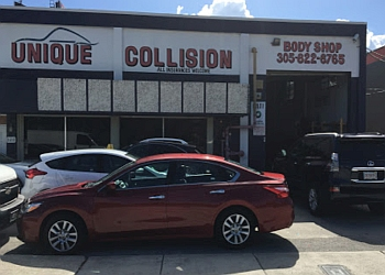Hialeah auto body shop Unique Collision Inc.