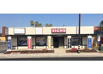 Moreno Valley sign company Unique Printing & Signs