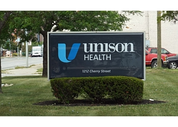 Toledo addiction treatment center Unison Health