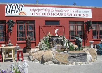 Stamford furniture store United House Wrecking, Inc.
