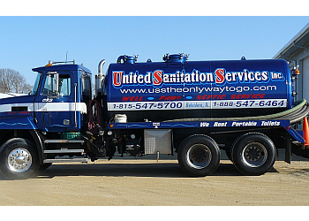 Rockford septic tank service United Sanitation Services, Inc.