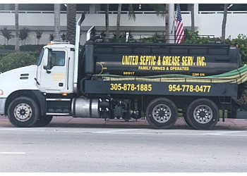 Miami septic tank service United Septic & Grease Services
