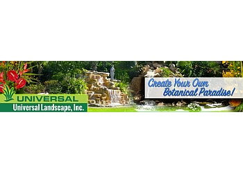 West Palm Beach landscaping company Universal Landscape, Inc