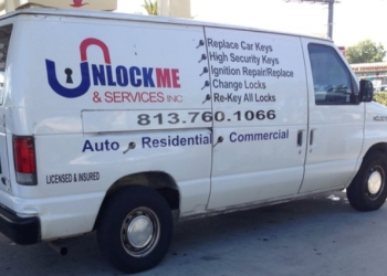 Tampa locksmith Unlock Me & Services Inc.
