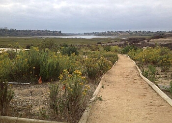 Costa Mesa hiking trail Upper Newport Bay Nature Reserve