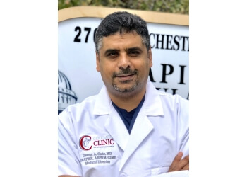 Columbia pain management doctor Osama Gabr, MD, FAAPMR