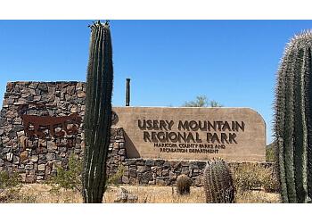 Mesa hiking trail Usery Mountain Regional Park
