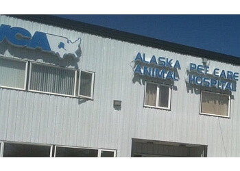 Anchorage veterinary clinic VCA Alaska Pet Care Animal Hospital