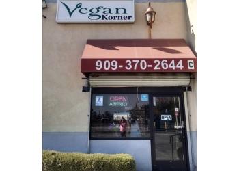 Riverside vegetarian restaurant VEGAN KORNER