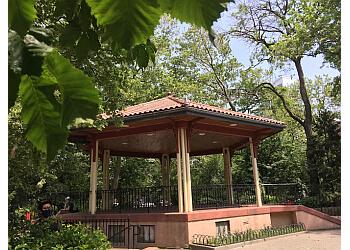 Jersey City public park Van Vorst Park