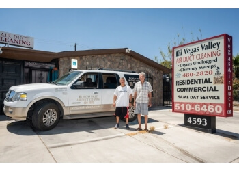 Las Vegas chimney sweep Vegas Valley Air Duct