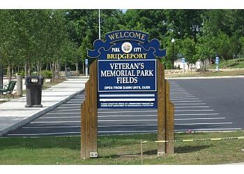 Bridgeport public park Veterans Memorial Park