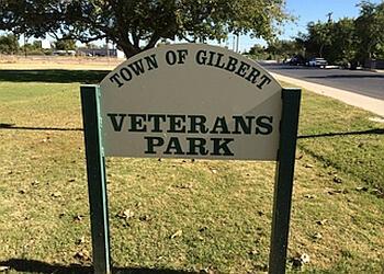 Gilbert public park Veteran's Park