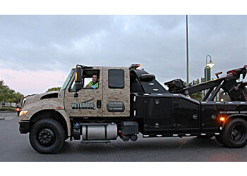 Anaheim towing company Veterans Towing