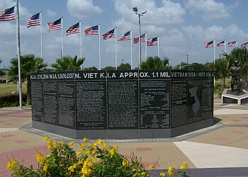 McAllen landmark Veterans War Memorial of Texas