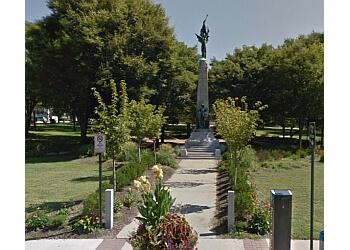 Manchester public park Victory Park
