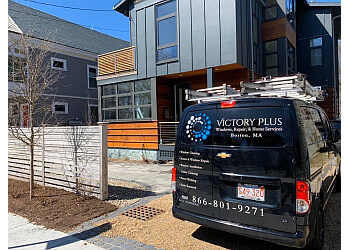 Boston window cleaner Victory Plus Windows, Repair & Home Services