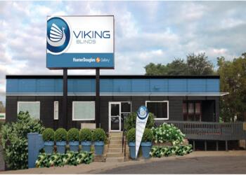 Minneapolis window treatment store Viking Blinds