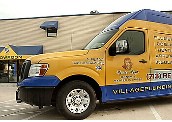 Houston plumber Village Plumbing & Home Services