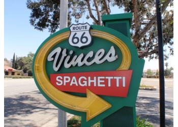 Rancho Cucamonga italian restaurant Vince's Spaghetti