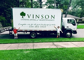 Montgomery landscaping company Vinson Landscaping & Maintenance