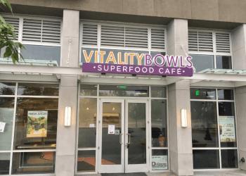 Sunnyvale juice bar Vitality Bowls
