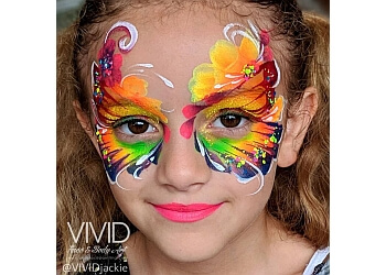 Orlando face painting Vivid Face Painting