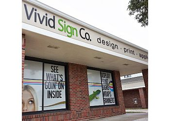 Lincoln sign company VIVID SIGN CO