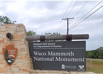 Waco places to see WACO MAMMOTH NATIONAL MONUMENT