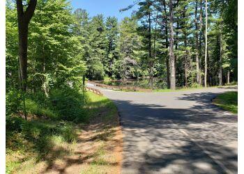 Hartford hiking trail WEST HARTFORD RESERVOIR