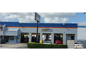 Hialeah car repair shop WESTLAND AUTO CENTER