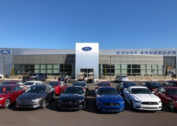 Huntsville car dealership WOODY ANDERSON FORD